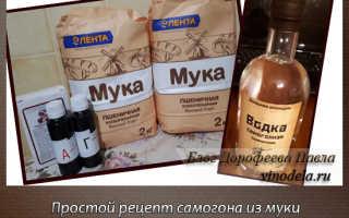 Как приготовить брагу из муки в домашних условиях