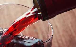 Сколько градусов в красном, белом, игристом вине