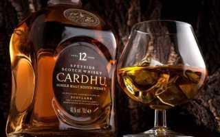 Обзор виски Cardhu (Карду)