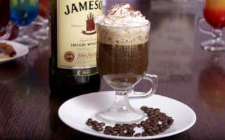 Как приготовить виски с кофе