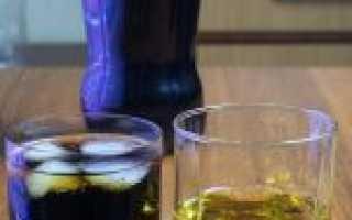 Как приготовить коктейли на основе виски с колой