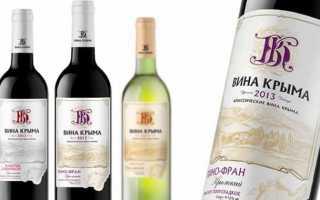 Крымские вина: типы, характеристики, особенности потребления (стр