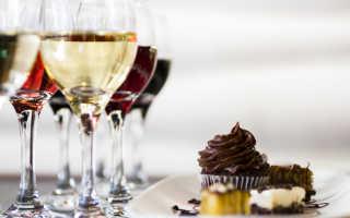 Все о том как подобрать вино к еде