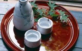 Рисовое пиво саке – напиток самураев
