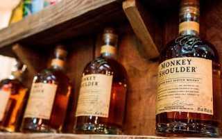 Обзор виски Monkey Shoulder (Манки Шолдер)