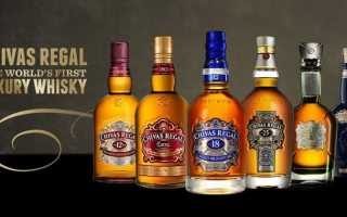 Виски Chivas Regal (Чивас Ригал) и его особенности