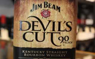 Виски Jim Beam Devil – s Cut и его особенности