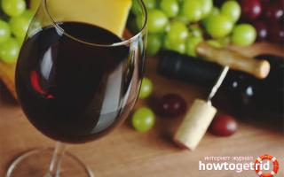 Польза и вред красного вина для здоровья организма