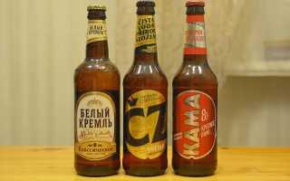 Пиво Белый Кремль и прочее от Татспиртпрома