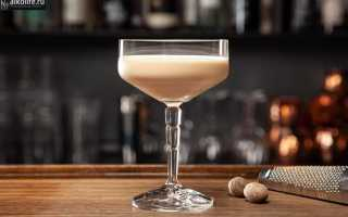 Алкогольный коктейль «Бренди Александр»: рецепт с фото