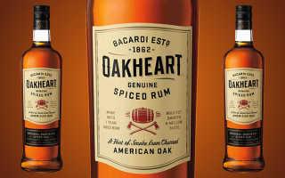 Бакарди Оакхарт: что это, состав, особенности производства с чем и как пить