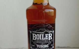 Отзыв: Пивной напиток Tuborg Boiler Maker – Странное пойло