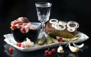 Правильное употребление и самая лучшая закуска для самогона