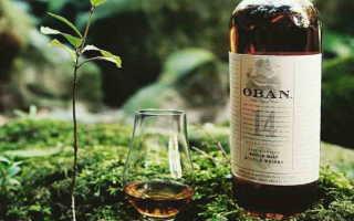 Виски Oban (Обан) и его особенности