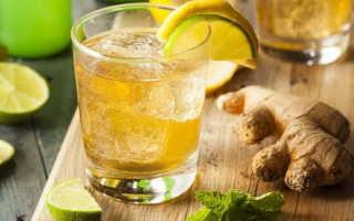 Рецепт приготовления имбирного эля