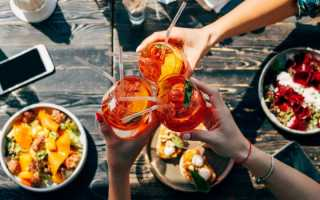 Алкогольный коктейль «Апероль Шприц»: рецепт с фото