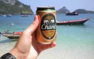 Обзор пива Чанг