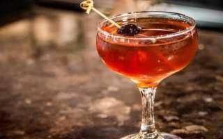Как сделать коктейль Манхэттен в домашних условиях