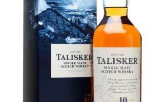 Обзор виски Talisker 10 Years
