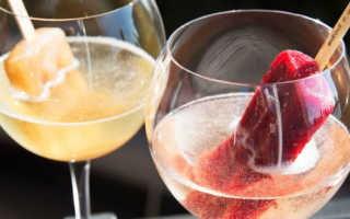 Как сделать коктейли с просекко в домашних условиях